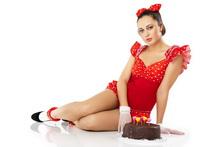 Woman-Cake